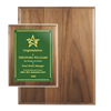 Genuine Walnut Plaque | Custom Recognition Plaques | Custom Engraved Plaques | Custom Plaques Awards | Trophies and Plaques