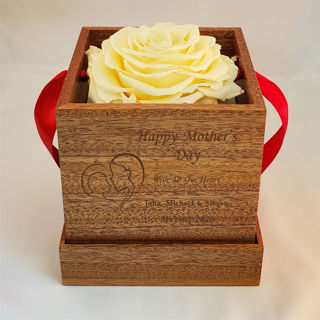Picture of Mother's Day Deluxe Rose Gift Box