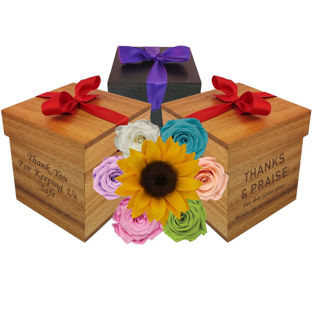 Picture of Appreciation Single Rose Gift Box